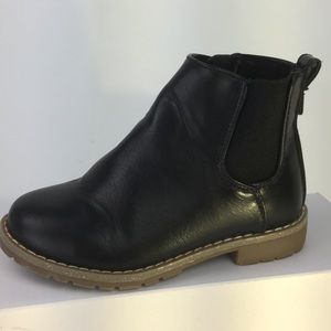 Children's Place sz 11 zip Black Boot